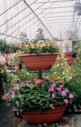Special event super large, double-decker container garden