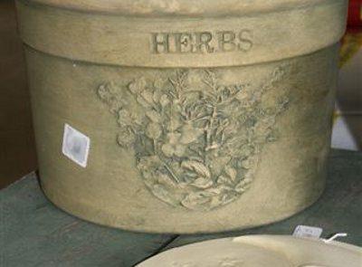 Decorative Herb Pot